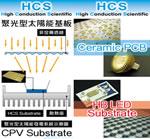 HCS(セラミックス上に銅箔を直接接合したDBC基盤)